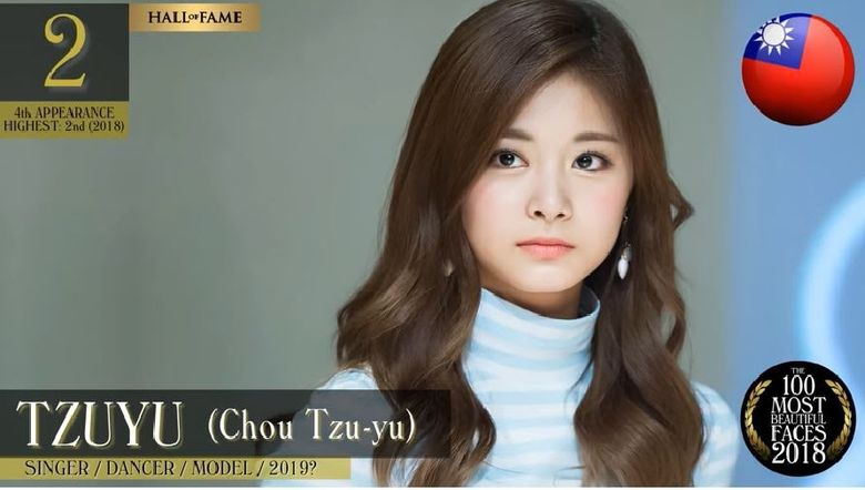 TWICE Tzuyu Is The 2nd Most Beautiful Woman Worldwide So Who Is 1st?