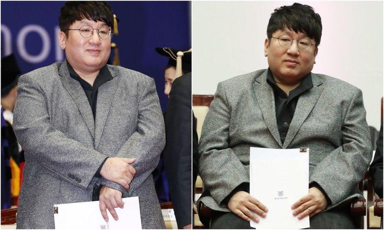 BTS Producer Bang SiHyuk's Major Weight Gain Concerns Fans