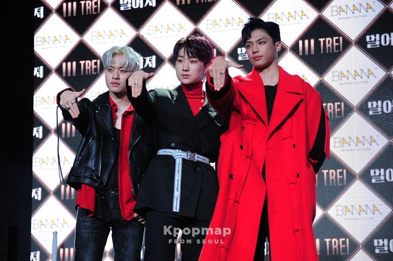 "Exclusive Review: TREI 1st Mini Album"" BORN; 本"" Press Showcase"