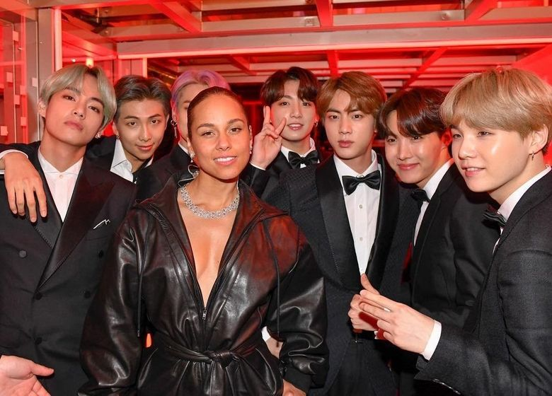 Celebs Who Met Up With BTS During 2019 Grammy Awards