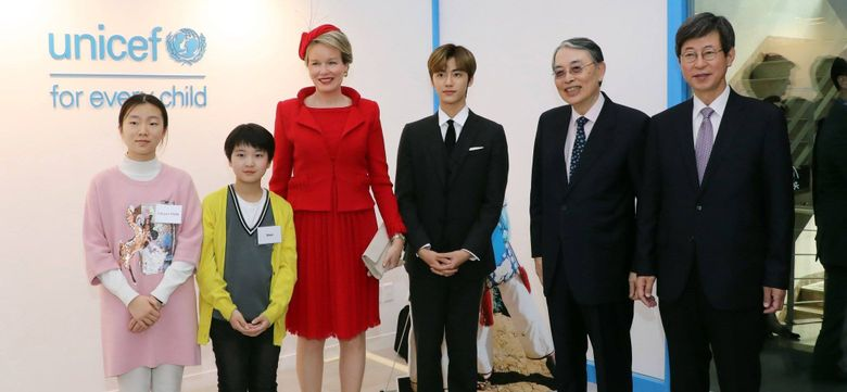 NCT's JaeMin Called A Diplomatic Idol, From S.Korea President To Queen Mathilde Of Belgium