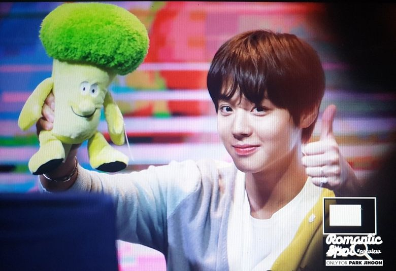 Park JiHoon's Fans Give Him Broccoli Soft Toys Despite Being His Most Hated Vegetable