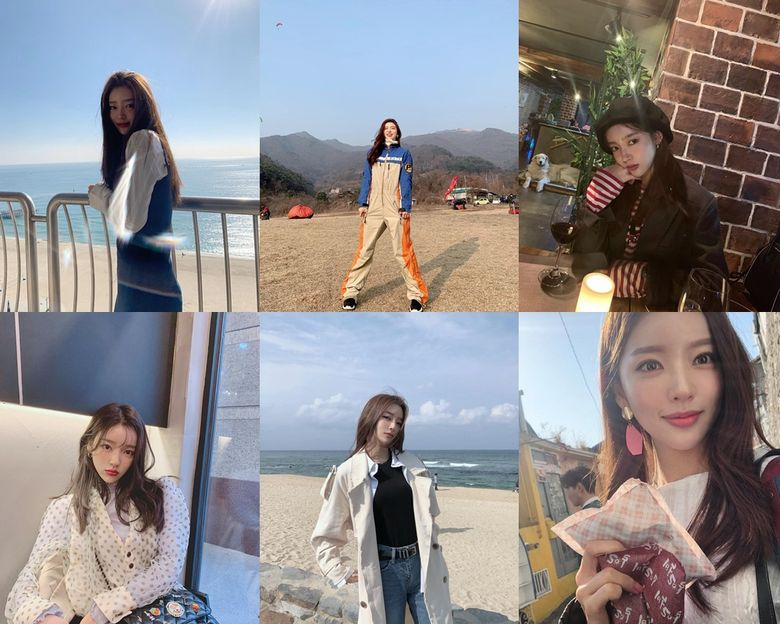 """Actress Hong JiYoon From """"My First First Love"""" Wows With Gorgeous Pictures On Her Instagram"""