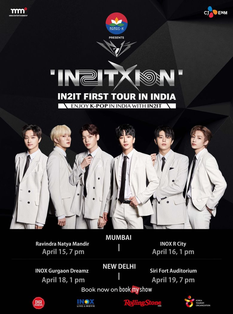 """IN2IT First Tour In India """"IN2IT X ION"""": Cities And Ticket Details"""