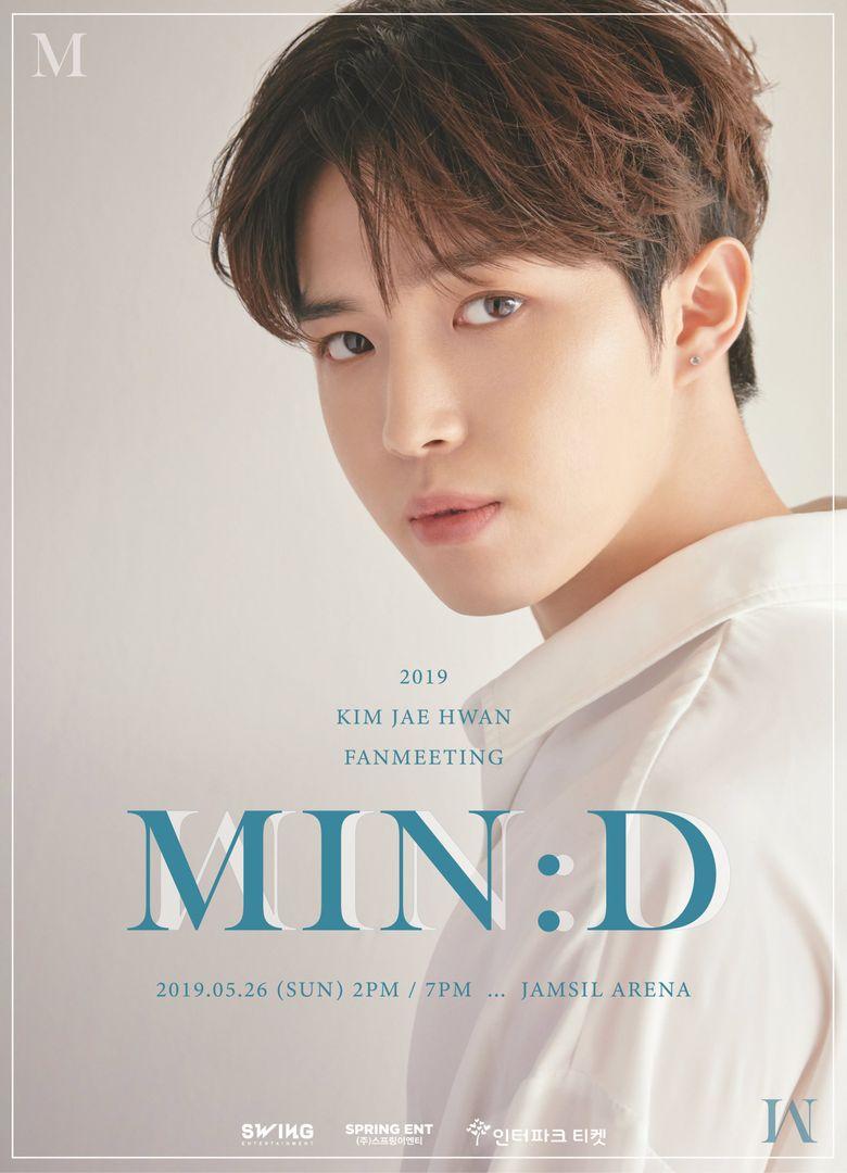 "2019 Kim JaeHwan Fanmeeting ""MIN:D"": Cities And Ticket Details"