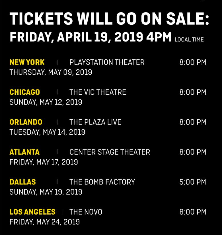 TOMORROW X TOGETHER SHOWCASE (TXT) - STAR in US: Cities And Ticket Details