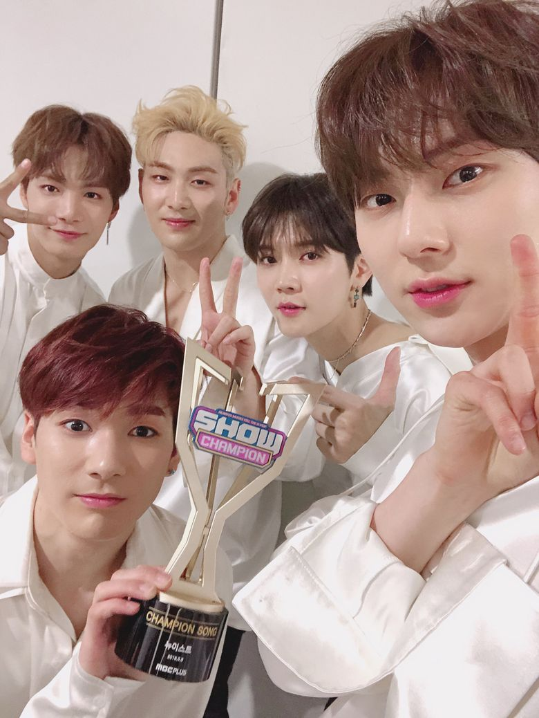 NU'EST Took Home Their First Win After 2611 Days
