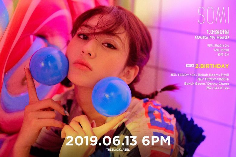 3 Reasons To Look Forward To Jeon SoMi's Solo Debut 'Birthday'