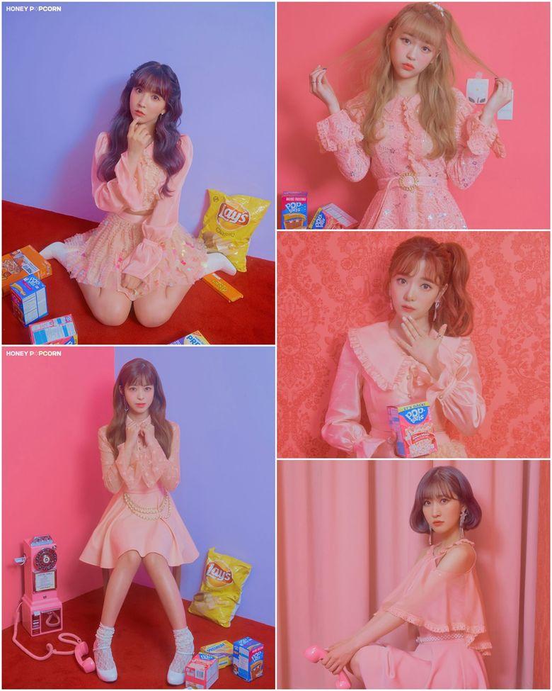 "Exclusive Review: Irresistible Love Spell, Honey Popcorn 2nd Mini Album ""De-aeseohsta"" Showcase"