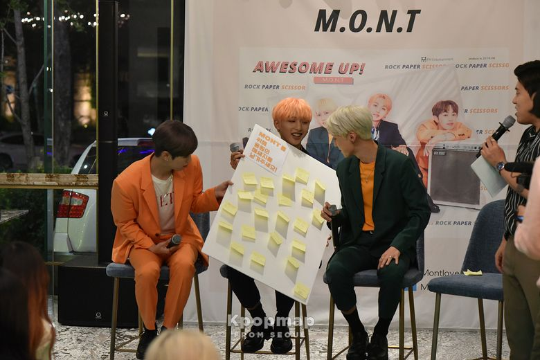 """Exclusive Review : M.O.N.T Second Mini Album """"Awesome Up!"""" Fan Showcase - Featuring Happy Smiles"""
