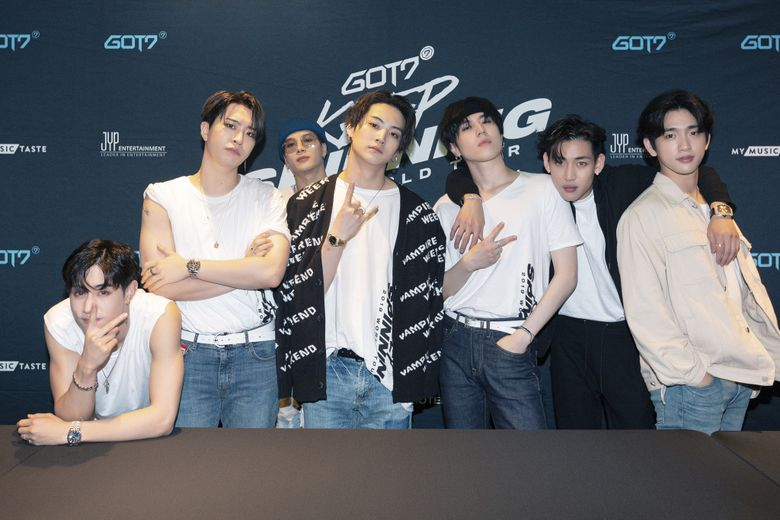 Exclusive Review: GOT7 Spun A Magical Night For The First Time With Fans In London