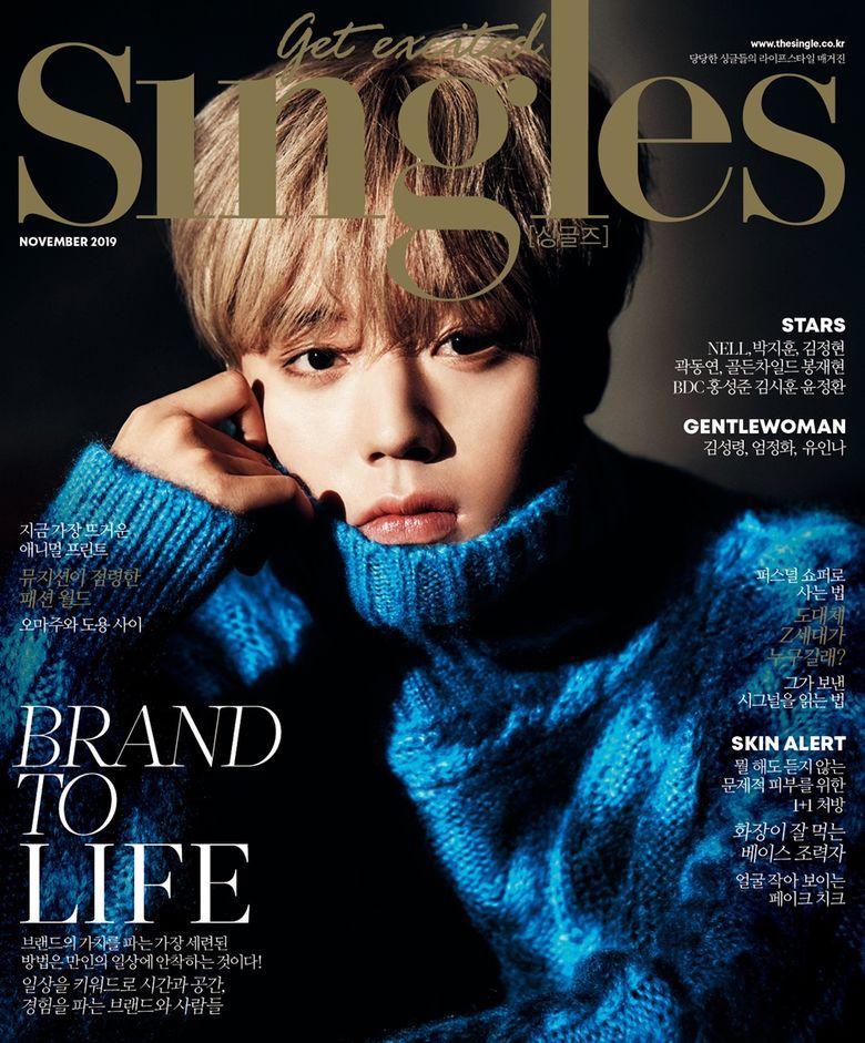 Park JiHoon Graces The Cover Of Magazine 'Singles' November Issue