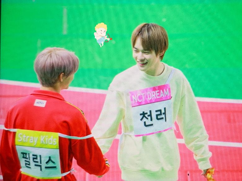 """Fans Love Stray Kids Felix & NCT DREAM ChenLe's Interactions At """"ISAC 2020"""" Seollal Recording"""
