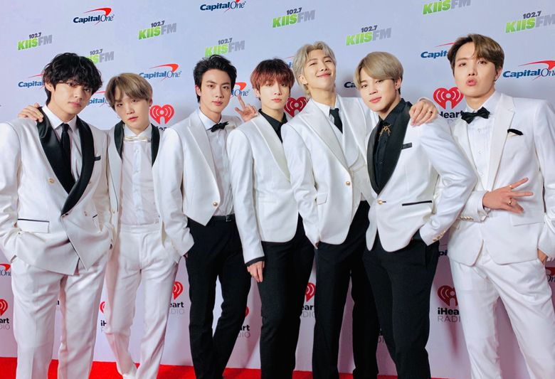 47 ARMY Chipped In Money To Purchase Shutterstock Photo Of BTS