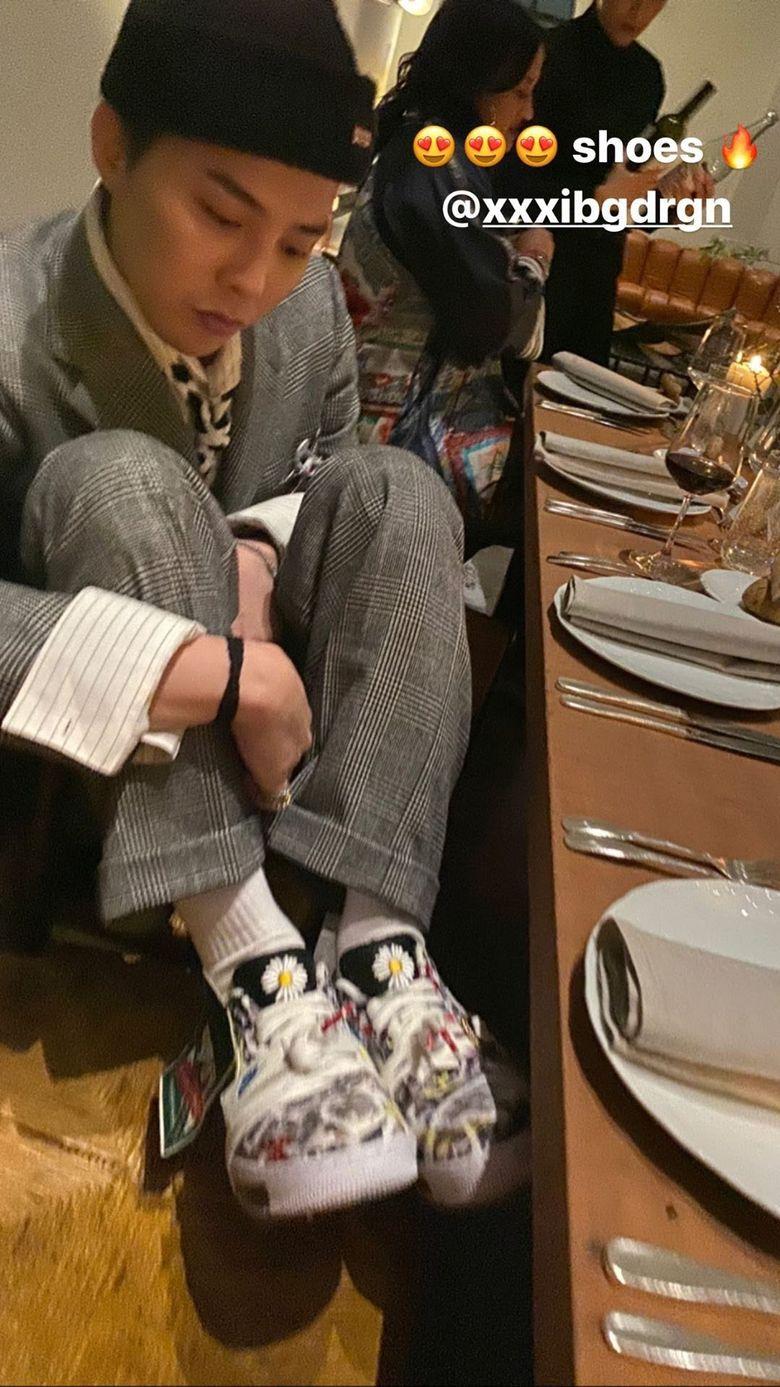 G-Dragon's Latest Fashion Has Shoelaces As A Necktie