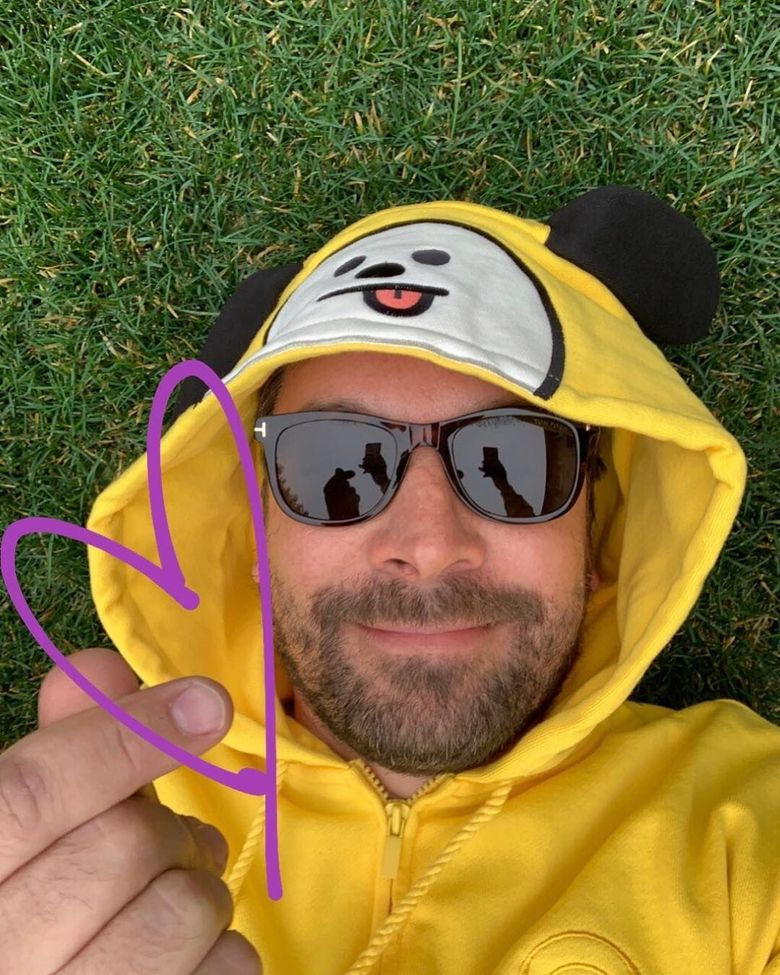 Western Celebs Who Have Repped BT21 Items