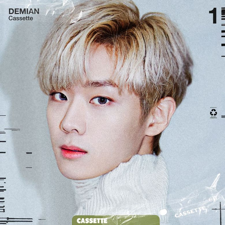 """Singer DEMIAN to Make Debut with """"Cassette"""""""