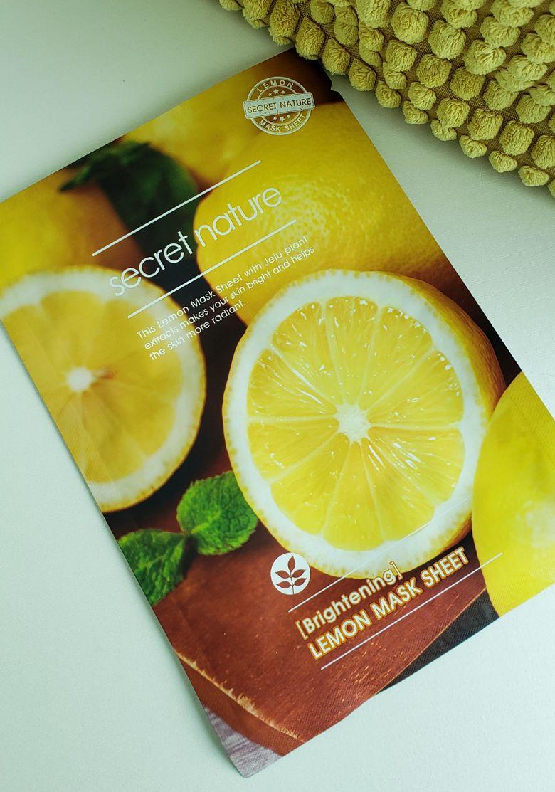 daily mask lemon