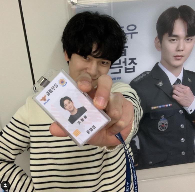 "Melting Hearts: Model Jung HaJoon Acting As Handsome Hacker In ""Memorist"""