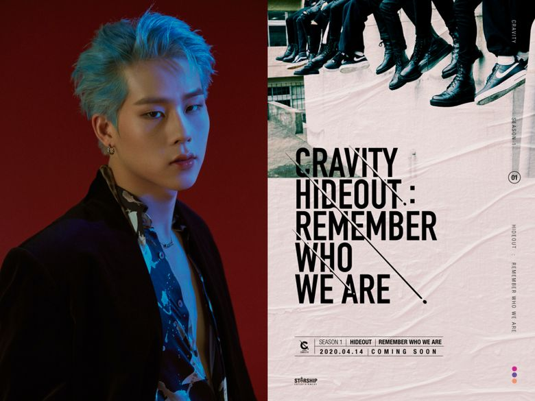 MONSTA X's JooHoney Self-Produced Track Included In CRAVITY's Debut Album