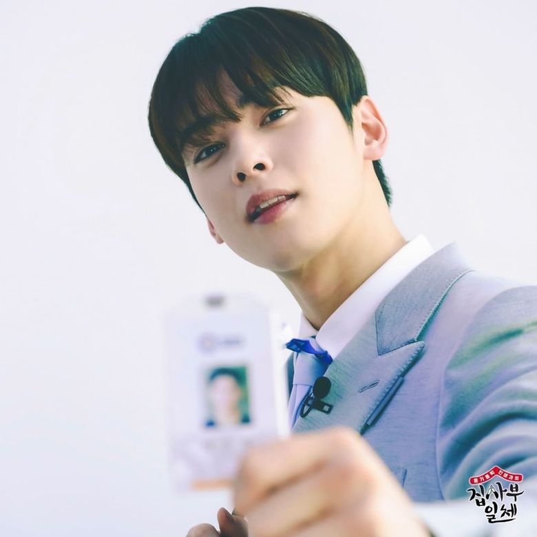 ASTRO's Cha EunWoo Steals Viewers' Hearts With His Fresh Appearance As An Announcer