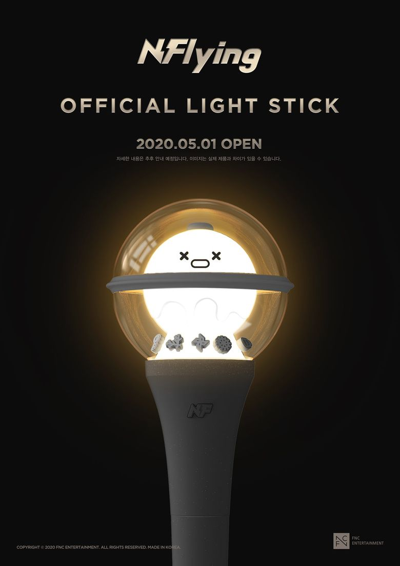N.Flying To Release Beautiful Official Lightstick