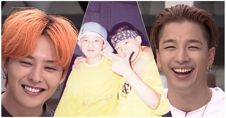 Taeyang Once Had To Use His Muscles To Protect G-Dragon