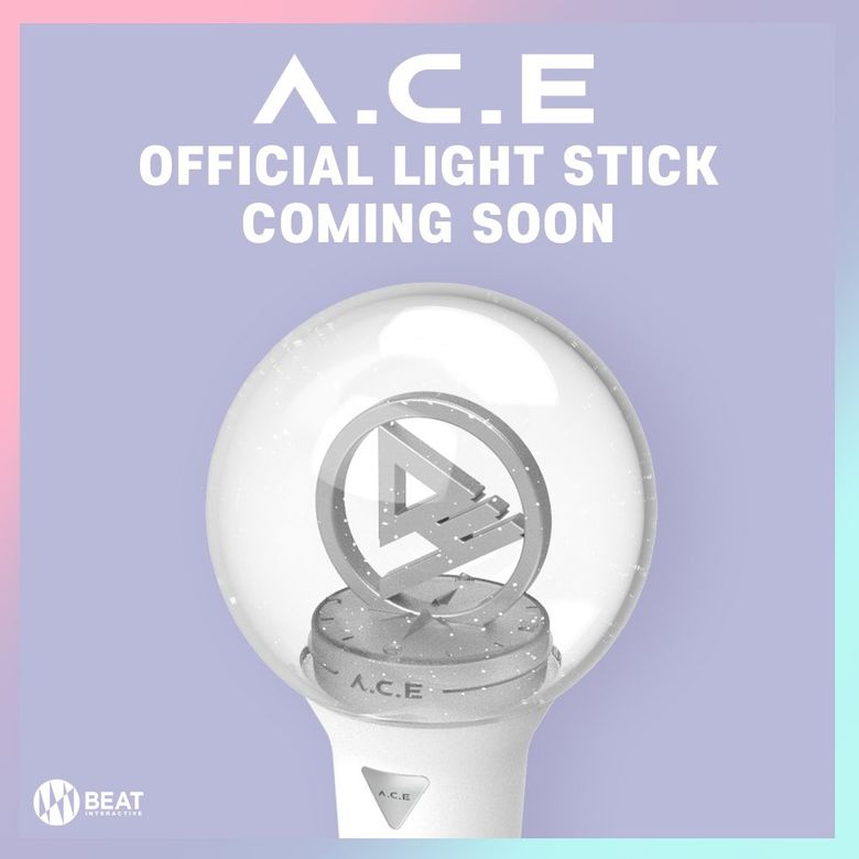 A.C.E Releases Beautiful Official Lightstick