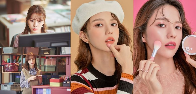 """Introduction To Actress Jung HyeRin Acting In """"My ID Is Gangnam Beauty"""" & """"In Seoul 2"""""""