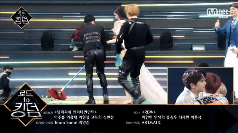 """THE BOYZ's SangYeon & Ju HakNyeon Proved To Be Gentlemen At """"Road To Kingdom"""""""