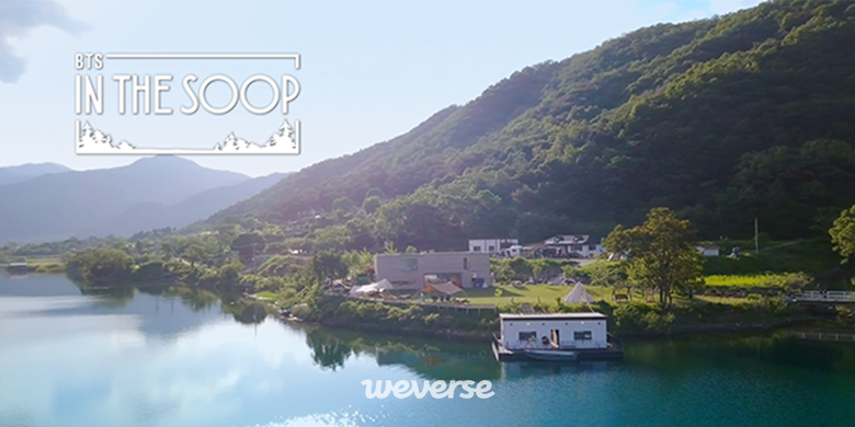 """Filming Location Of BTS New Variety Show """"In The Soop"""" Wows ARMY With Amazing Lake View"""