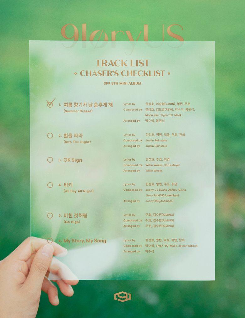 "SF9 Is Radiant Summer Boys With 8th Mini Album ""9loryUS"""