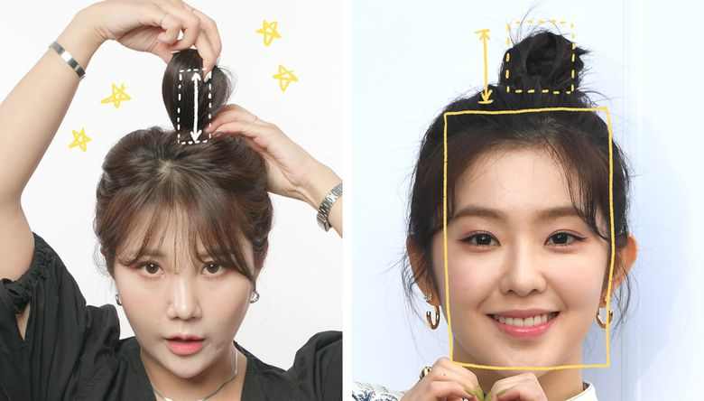 Your Hair Won't Look Like Irene's When You Tie It Unless You Follow These Rules
