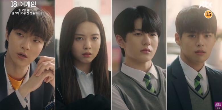 """4 Rising Actors Starring In Upcoming Drama """"18 Again"""""""
