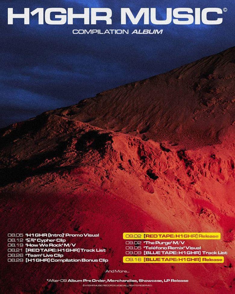 Jay Park's Label, H1GHR Music, Releases Teaser For a Commemorative Album