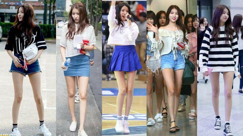 Female K-Pop Goddesses With Golden Body Ratios