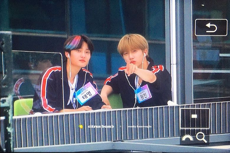 CRAVITY's WonJin And TaeYoung Prove Their Eagle Eyes By Spotting Fans Across A Building
