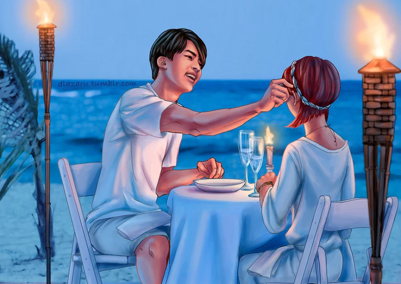 Fantasizing About Dating BTS Members? These Gorgeous Drawings Will Make You Melt