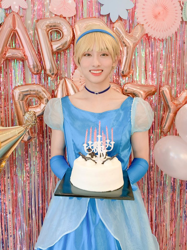 WayV Members Turn Into 7 Lovely Princesses For WinWin's Birthday Party
