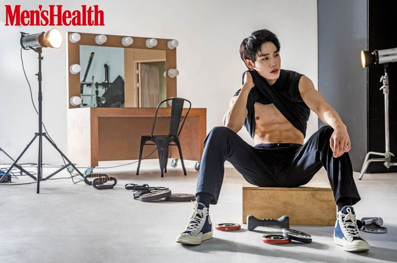 Golden Child's JangJun Makes Heads Turn With Define Abs On 'Men's Health'