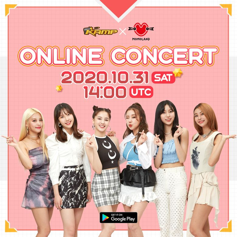 KAMP X MOMOLAND Online Concert 2020: Live Stream And Ticket Link