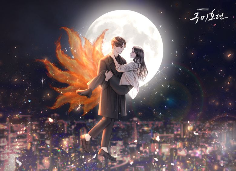 """tvN Released Beautiful Illustrations Of """"Tale Of The Nine Tailed"""""""