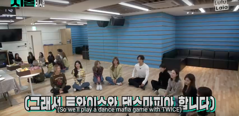 Which TWICE Member Was The Dancing Mafia In Game With Rain?
