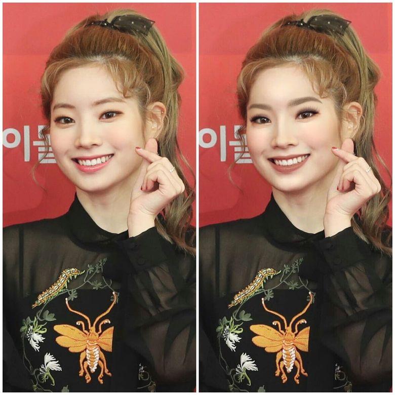 Western Makeup vs South Korean Makeup On TWICE Members