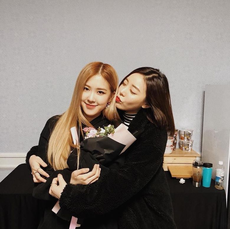 How Did BLACKPINK Rosé & Ladies' Code Ashley Become Friends?