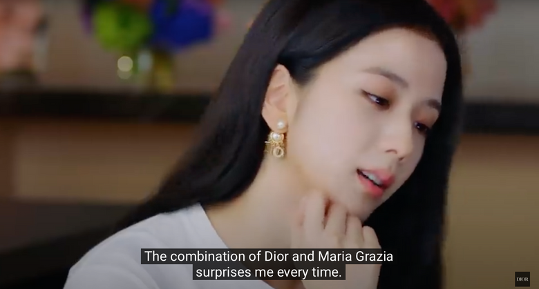 BLACKPINK JiSoo Talks Favorite Outfits Watching Dior S/S 2021 Show