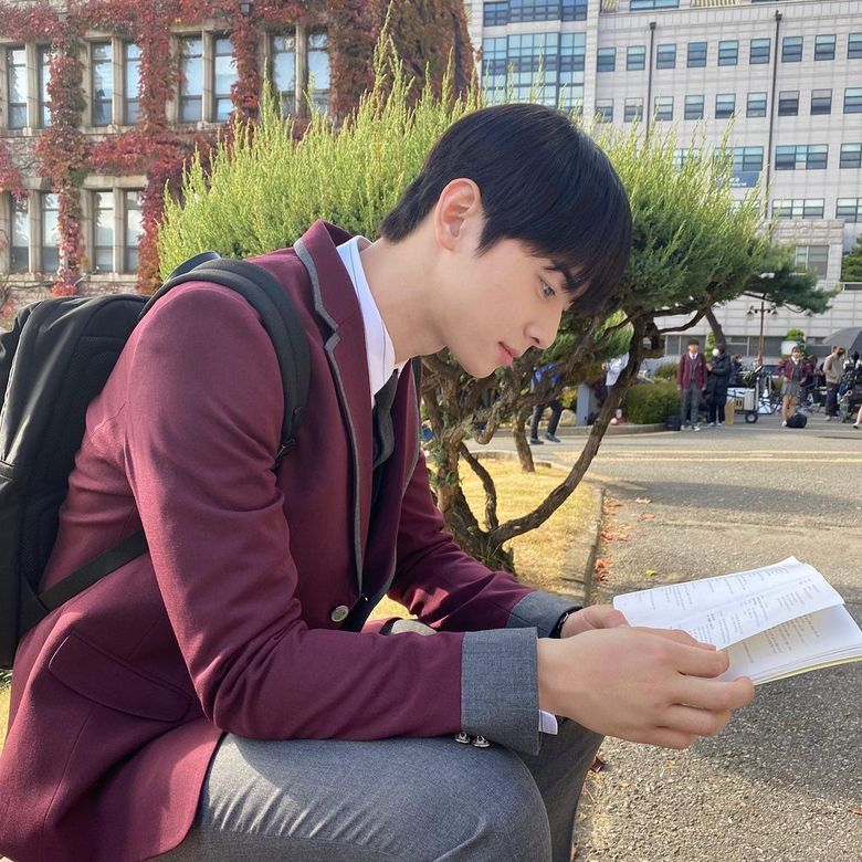 "ASTRO's Cha EunWoo Begins Countdown For Long Awaited ""True Beauty"""