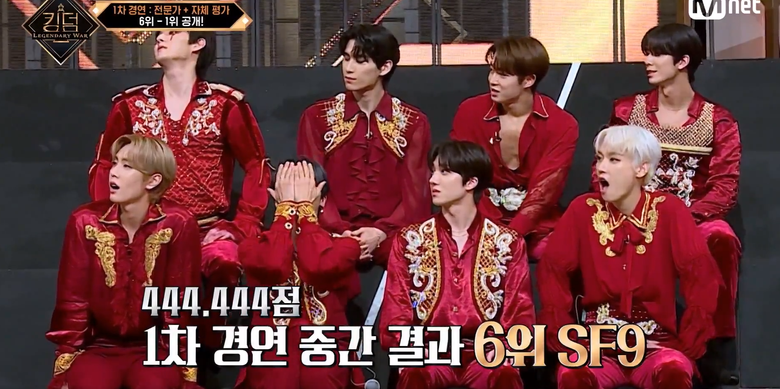"""Viewers' Hearts Ache As SF9 Received No Votes On Self-Evaluation Of """"KINGDOM: LEGENDARY WAR"""" Round 1"""
