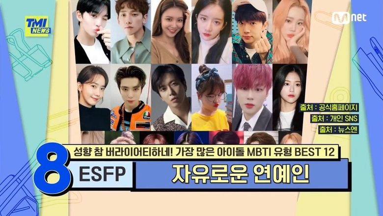 Top 12 MBTI With The Highest Amount Of K-Pop Idols