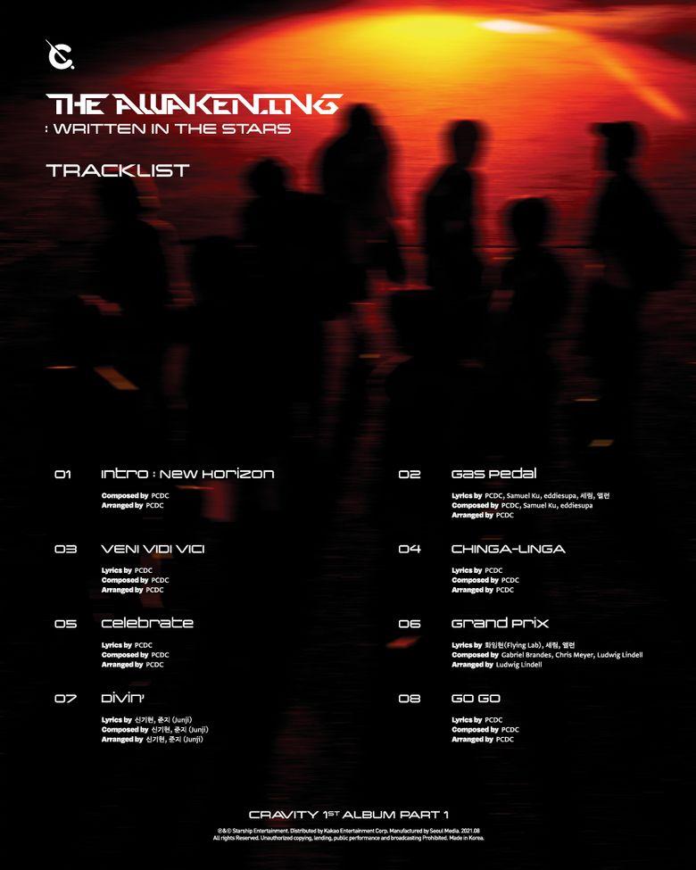 "CRAVITY's Comeback Showcase, Their 1st Album ""THE AWAKENING: WRITTEN IN THE STARS"" Wakes Us Up"